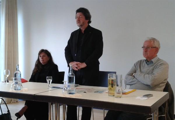 Podiumsdiskussion mit Joachim Zeller, MdEP